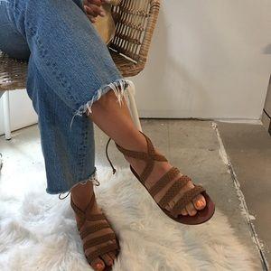 Topshop Braided Sandals